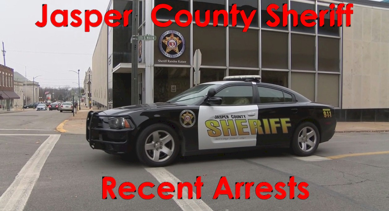 Jasper County MO Recent Arrests