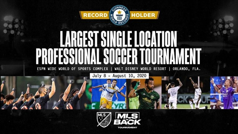 MLS Makes History By Setting Guinness World Records™ Title