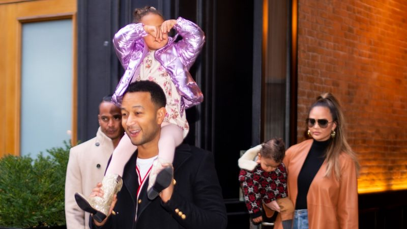 Chrissy Teigen and John Legend reveal baby news… in a music video
