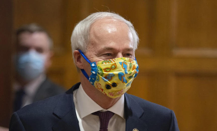 Coronavirus today I: Governor calls special session to lift mask mandate ban on schools and to deny unemployment benefits to 69.000 Arkansans