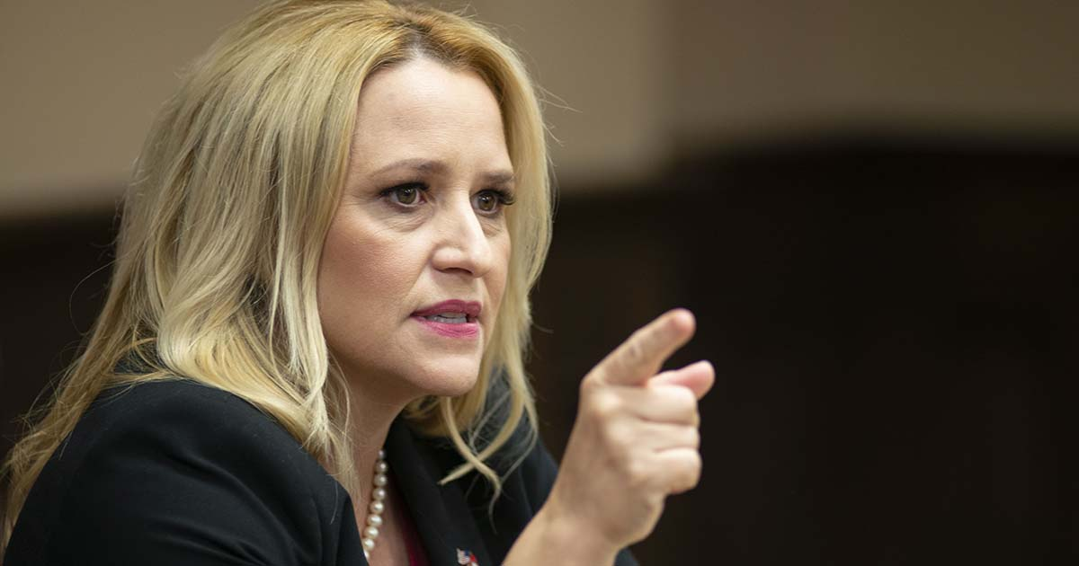 Rutledge unhappy Biden protecting people on Medicaid