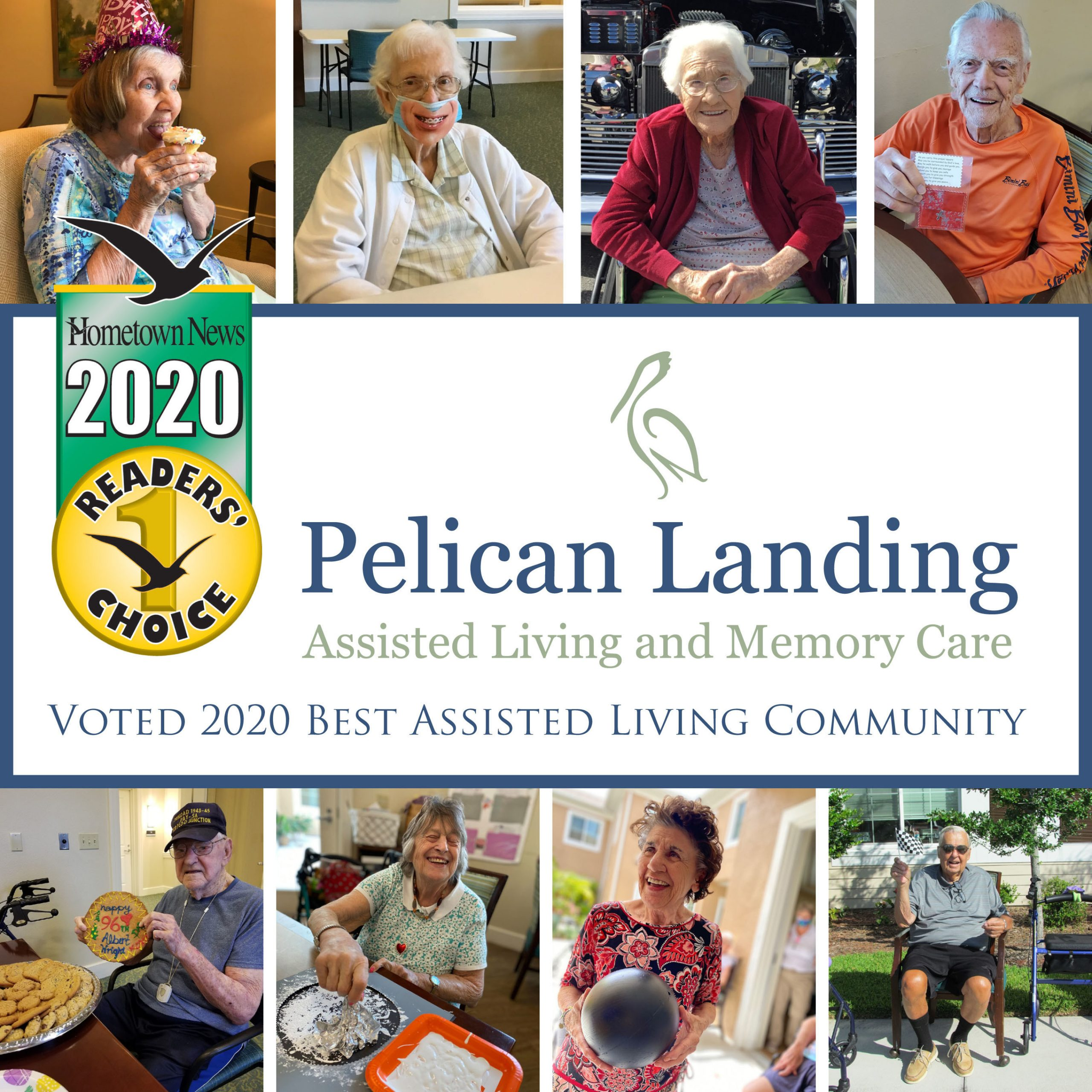 Pelican Landing Assisted Living and Memory Care Voted 'Best Assisted Living Community' for Two Consecutive Years
