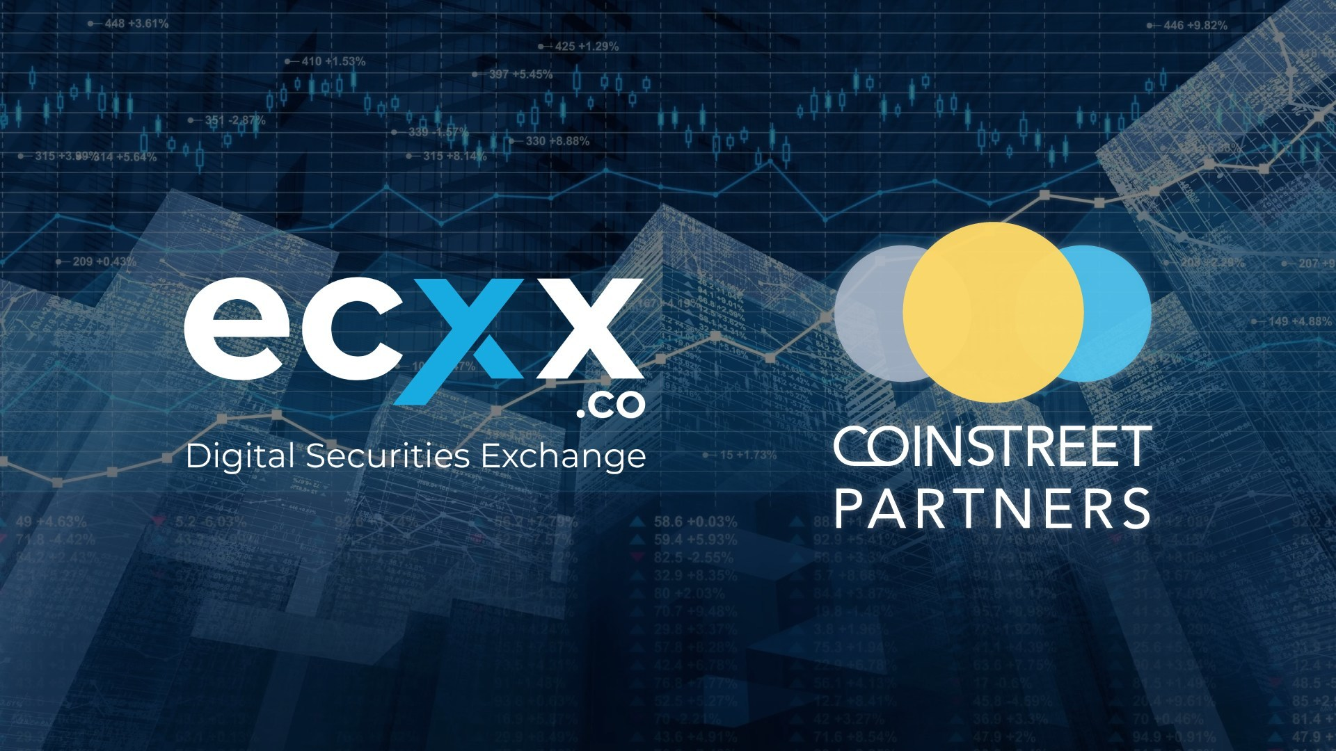 Constreet Partners and ECXX announce strategic partnership in asset tokenization, digitized securities and STO areas