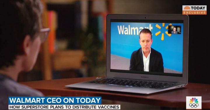 Walmart says it will go big on COVID vaccinations