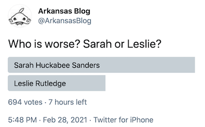A Twitter poll on the Republican gubernatorial candidates: 'Sophie's choice'