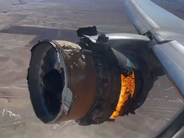 Engine failed on United Airlines flight after pilots increased power, NTSB report says