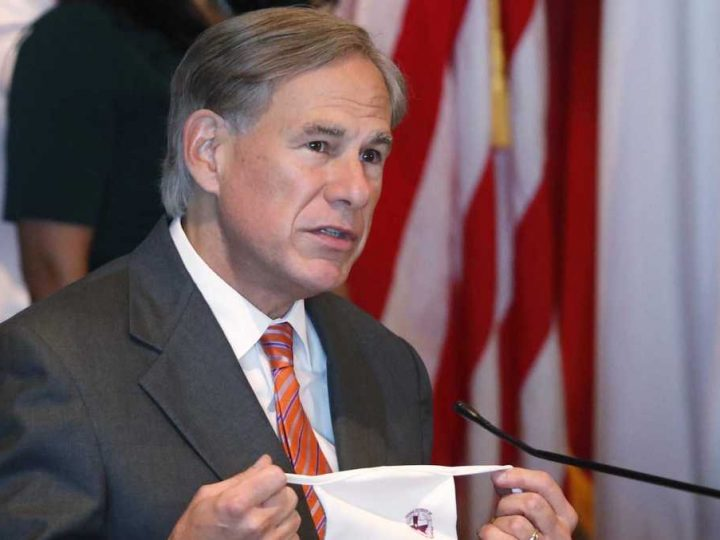 Texas governor recommends masks days after deeming mask mandate unnecessary