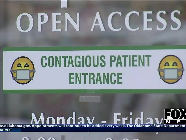 Tulsa doctor using new equipment to help COVID-19 outpatients breathe  FOX23 News