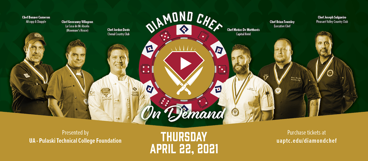 Diamond Chef cooking competition goes virtual
