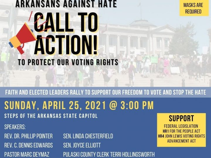 Protect and expand voting! Oh wait. It's Arkansas