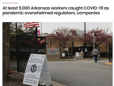 Tyson workers bore brunt of pandemic illness, new report says