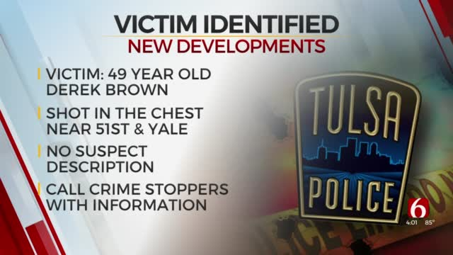 Tulsa Police Identify Victim In Deadly Shooting