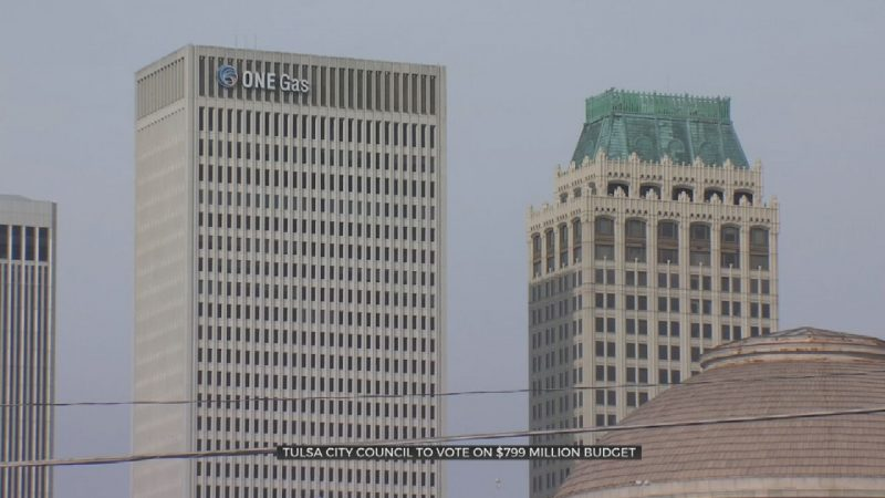 Tulsa City Council To Vote On $799M Budget