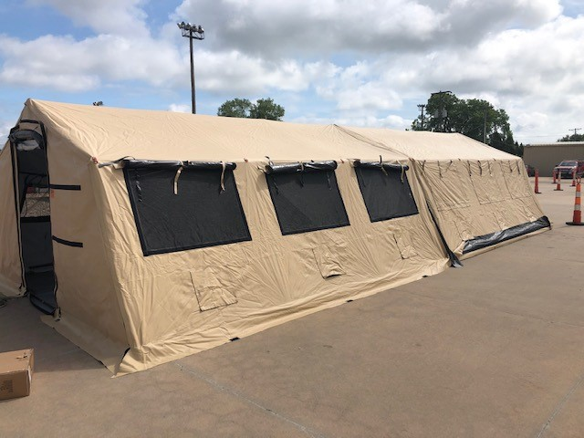 Task Force 5 tents