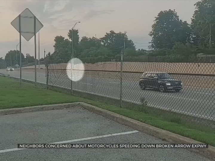 Neighbors Concerned About Motorcycles Speeding Down Tulsa Highways