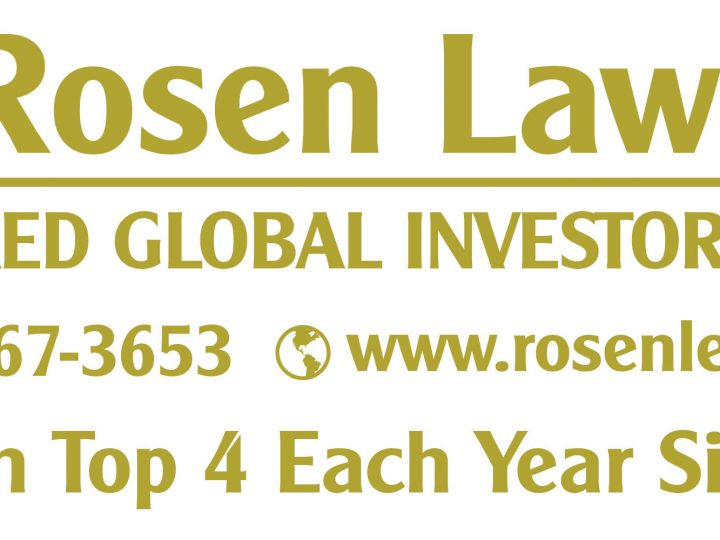 ROSEN, A LEADING INVESTOR RIGHTS LAW FIRM, Encourages Sesen Bio, Inc. Investors with Losses to Secure Counsel Before Important October 18 Deadline in Securities Class Action – SESN