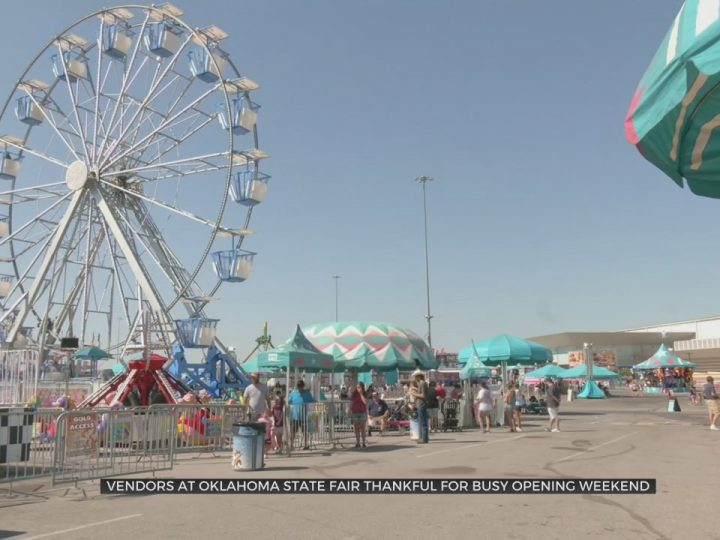 Vendors At Oklahoma State Fair Thankful For Busy Opening Weekend