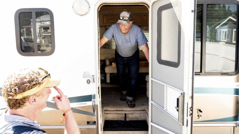 'People helping people': Wildfire victims left with nothing get hope from donated RVs