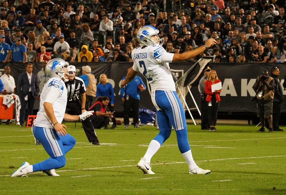 Lions add K Ryan Santoso to practice squad and protect him for Week 3
