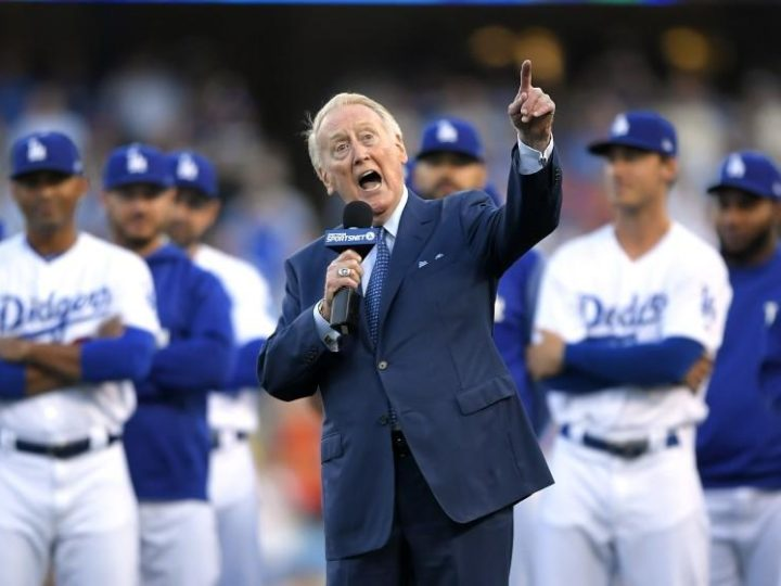 Commentary: Vin Scully can't believe how Dodgers and Giants were unrivaled this season