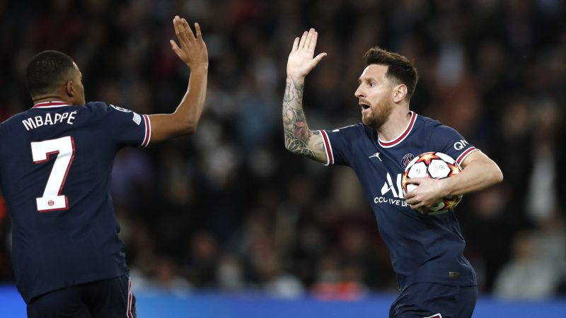 Mbappe-Messi double act earns PSG comeback win against Leipzig