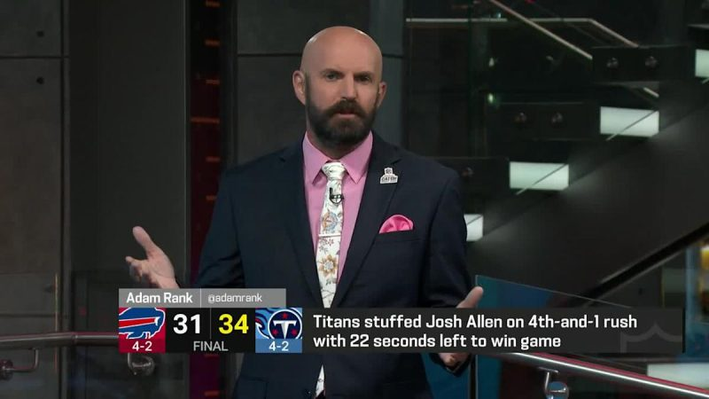 James Jones: 'I absolutely love' Bills' decision to go for it on fourth down vs. Titans late
