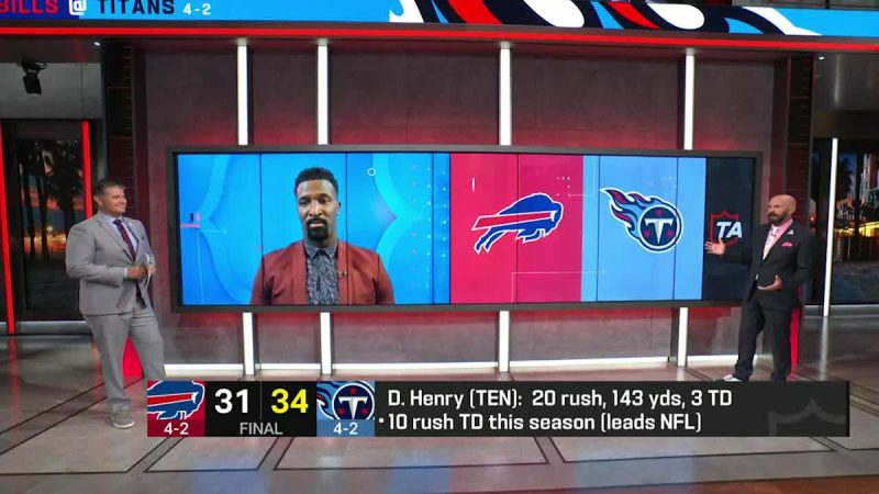 James Jones: Derrick Henry is 'the best player in the NFL right now'
