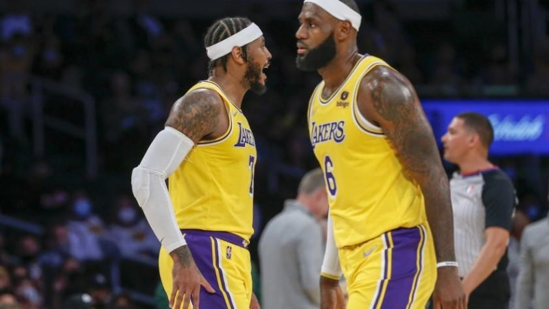 Lakers star LeBron James is healthy and ready for the season opener