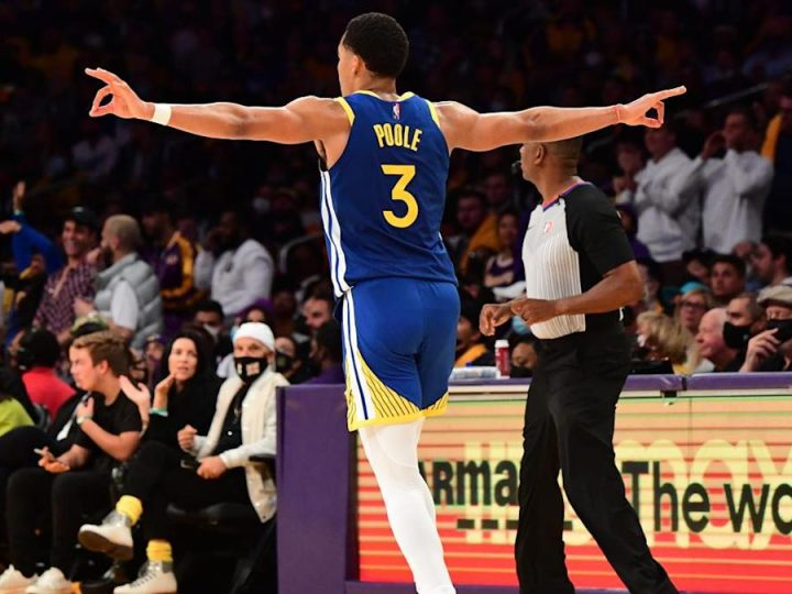 Warriors observations: Jordan Poole, bench power opening win vs. Lakers