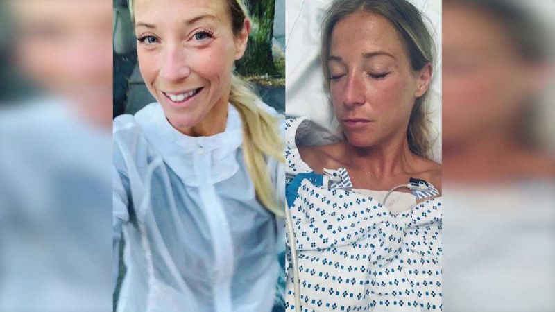'They saved my life': Runner grateful for help after she collapsed on marathon route